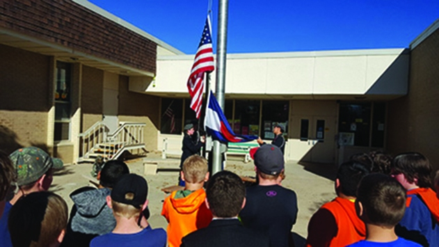 Ivy Stockwell Elementary Veterans Day 2