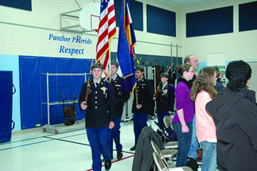 Van Buren Elementary Veterans Day