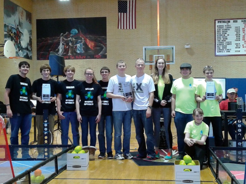 TSD Robotics Winners