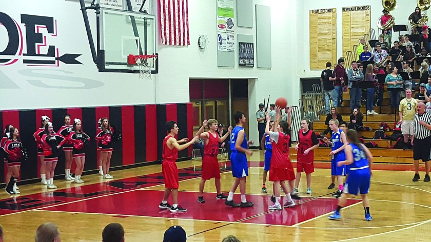 Unified Basketball at LHS