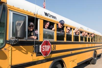 Bus Signing 4